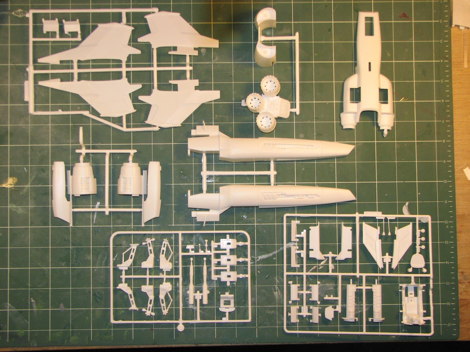 Moebius Colonial Viper Mk. II Kit Data