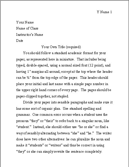 How to write reflection paper